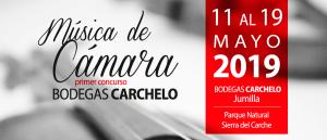 Concurso de Música de Cámara para Jóvenes con Bodegas Carchelo Jumilla