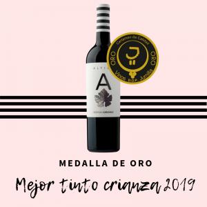Medalla de Oro para Altico Crianza de Carchelo